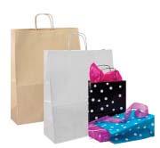 Papier und Geschenketüten
