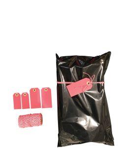 Geschenktüte mit Klebeverschluss(30 x H 44 cm.)