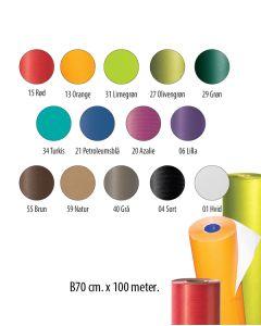 Geschenkpapier - Einfarbig B70 - Kraftpapier