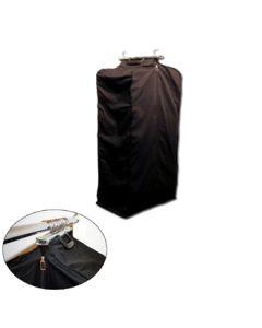 Kleidertasche mit Metallhalterung - H 80