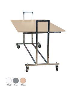 Straßentisch - L10 - Ahorn Tischplatte