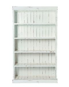 Regal mit 5 Fächern - Weiß - Heritage