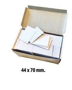 Anschieß-Etiketten 44 x 70 mm. 1.000 stk.