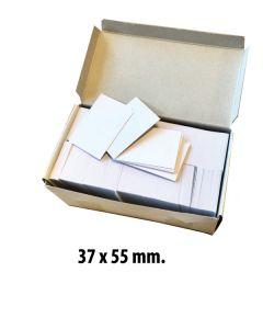 Anschieß-Etiketten 37 x 55 mm. 1.000 stk.