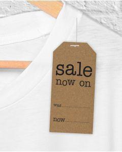 "Manilas -  ""Sale now on"" - H 9,6 cm."