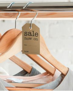 "Manilas -  ""Sale now on"" - H 7 cm."