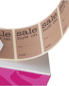 Etiketter, Sale now on - 500 stk.