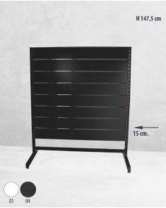 Panelgondol enkeltsidet - 127 x H147 cm. - budget