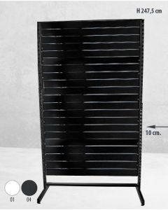 Panelgondol dobeltsidet - 127 x H247,5 cm.