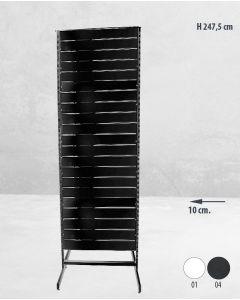 Panelgondol dobbeltsidet - 67 x H247,50 cm.