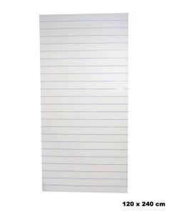 Lamellenwand - Weiß- Standard (120 x 240 cm.)