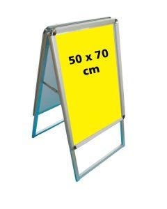 Kundenstopper (50 x 70 cm.) - Runde Ecken