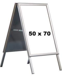 Kundenstopper - 50 x 70 cm. - Alu