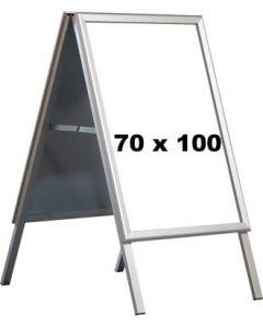 Kundenstopper - 70 x 100 cm. - Alu