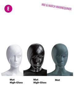 Klassicher Mannequinkopf - Damen