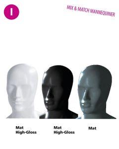 Abstrakter Mannequinkopf - Herren