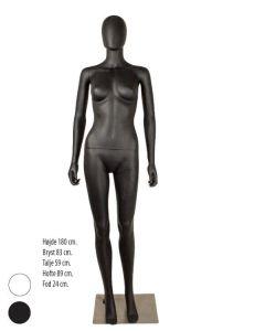 Damenmannequin mit Abstraktem Gesicht