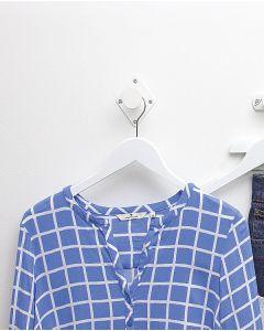 Garderobenhaken - 1 Haken- Weiß