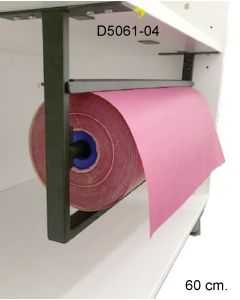 Papierabroller - 60 cm.