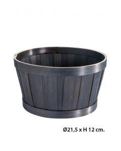 Geschenkekorb - 40 stk. - Bambus - Ø21,5 cm.