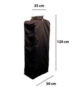 Kleidertasche mit Metallhalterung - H 120